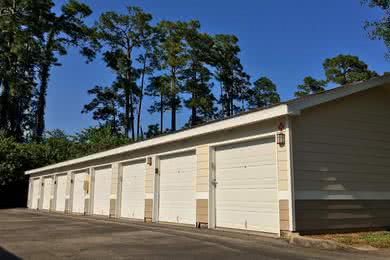 Detached Garages | Residents have the option of renting one of our detached garages.
