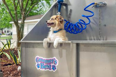 Pet Friendly | We offer pet friendly apartments and even have a dog wash on site!