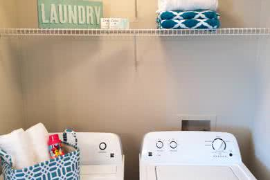 Washer & Dryer | All of our apartment homes feature a full size washer and dryer.