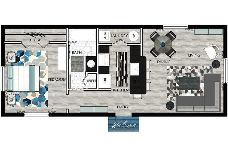 Apartment Floor Plans Amp Pricing Grand Oaks At The Lake