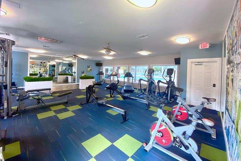Fitness Center | Get an invigorating workout in our brand new, state-of-the-art fitness center.
