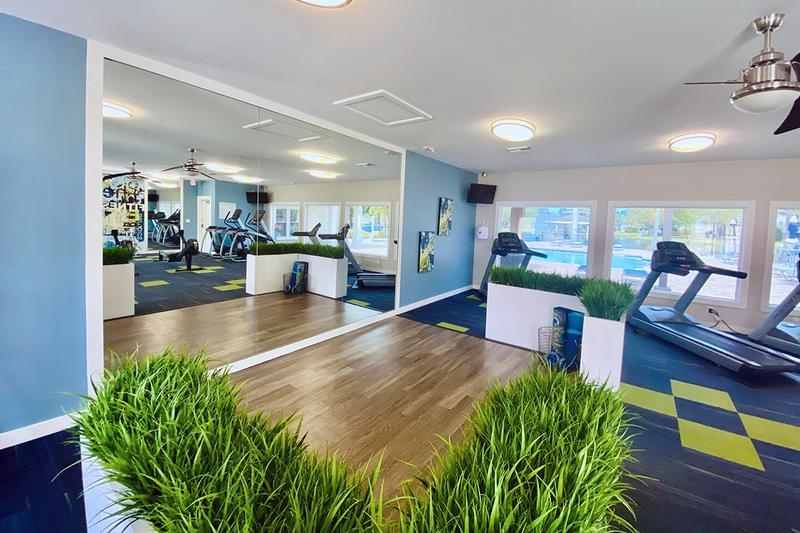 Yoga Studio | Our fitness center also includes a yoga studio.