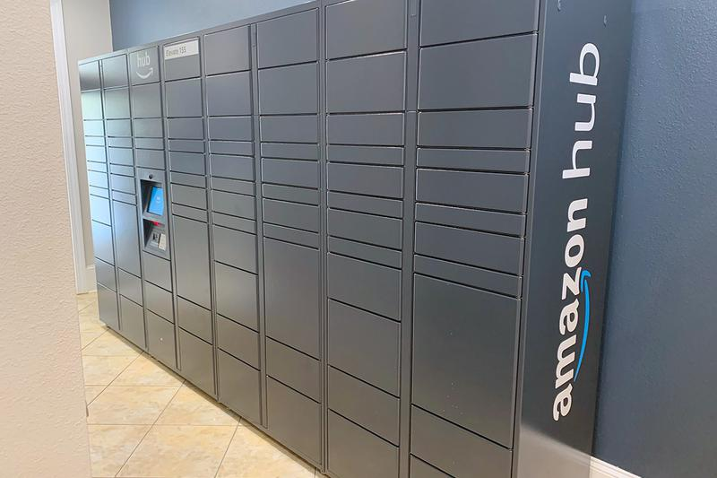Amazon HUB Package Lockers | Retrieving your amazon packages just got easier with our Amazon hub package lockers!