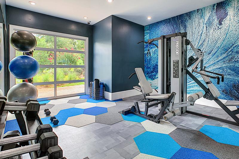 Strengthening and Stretching | With our fitness center, you'll love the fact that you'll never need to pay for a gym membership again!
