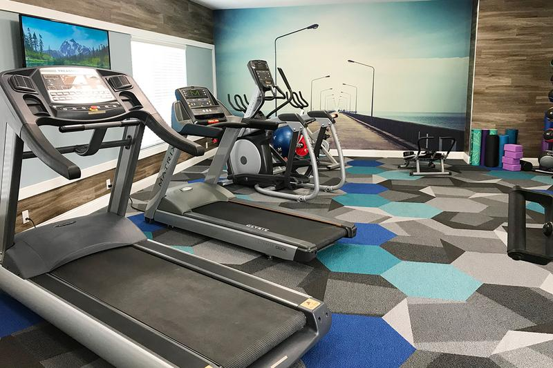 Cardio Equipment | Our fitness center features all the cardio and weight training equipment you could ask for! (Updates Coming Soon)
