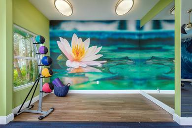 Yoga Studio | Our fitness center also features a yoga studio as well.
