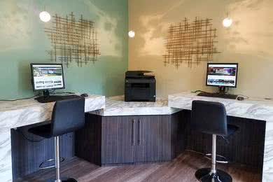 Business Center | Use our high speed internet at our resident business center.