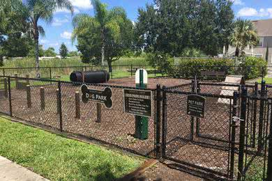 Dog Park | Your dog will absolutely love our dog park, complete with agility equipment.