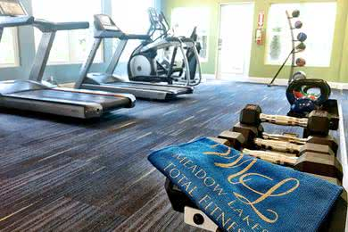Fitness Center | No need for a gym membership when you can use our 24-hour fitness center.