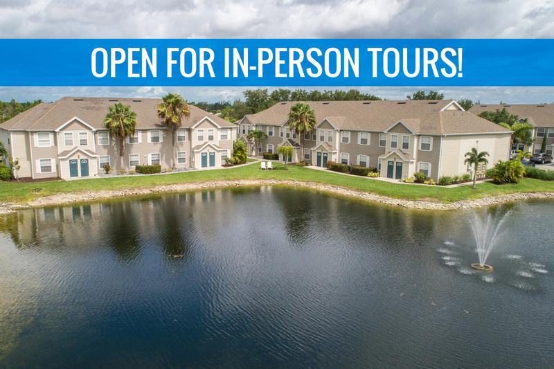 Now Offering In-Person Tours | Come home to Meadow Lakes and enjoy beautiful lakeside living in Naples. We are excited to offer in-person tours while following social distancing and we encourage all visitors to wear a face covering.