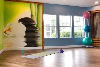 Yoga Studio | Our fitness center also features a yoga studio.