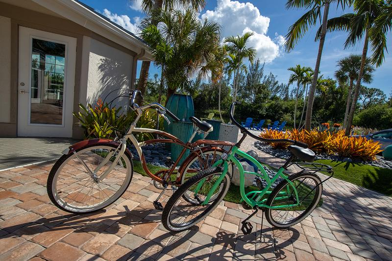 Complimentary Bike Rentals | Residents can enjoy complimentary bicycle rentals.