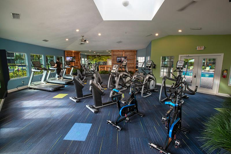 Cardio Equipment | Our state-of-the-art fitness center features all of the cardio equipment you need!