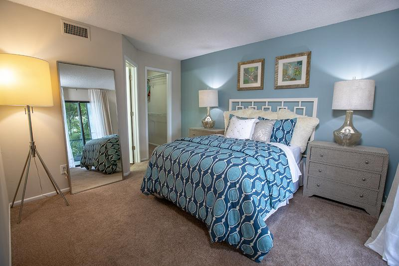 Master Suite | Master bedrooms feature private baths, walk-in closets and direct access to the lanai.