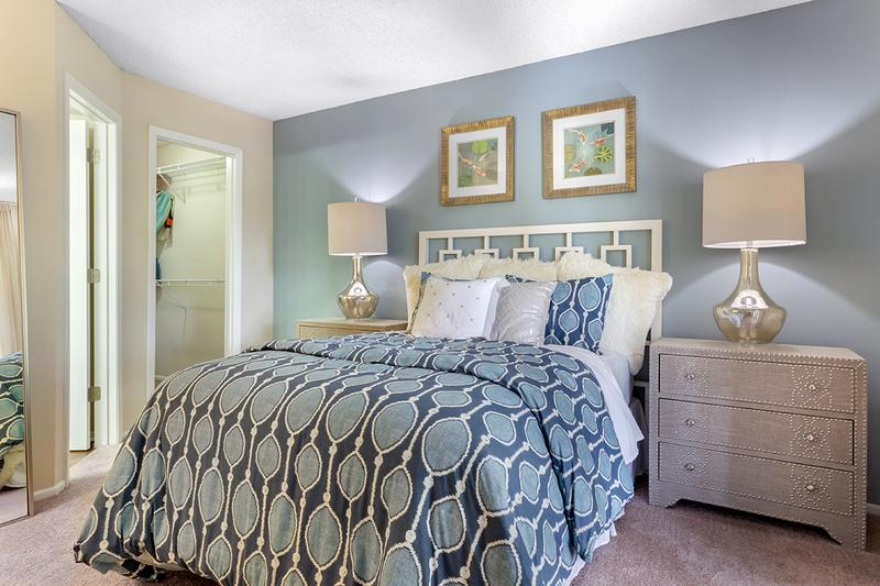 Rivieria Master Suite | The Rivieria Master Suite features an ensuite and spacious walk-in closets.