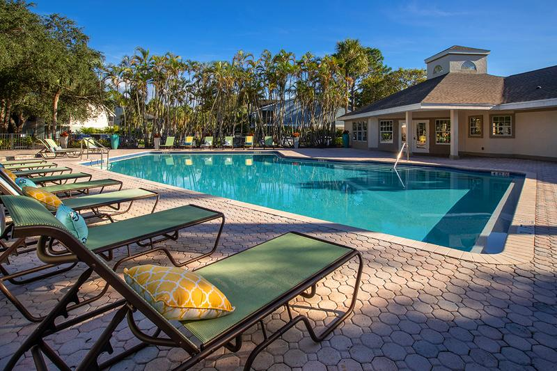 Two Resort-Style Pools | One of two resort-style pools here at River Reach.
