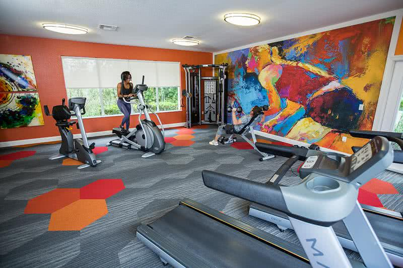 Fitness Center | Get in a workout whenever you want at our 24-hour fitness center.