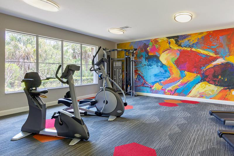 Fitness Center | Get a workout in brand new, fully equipped, 24-hour fitness center.