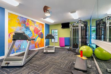 Fitness Center | Workout any time of day at our 24-hour fitness center.