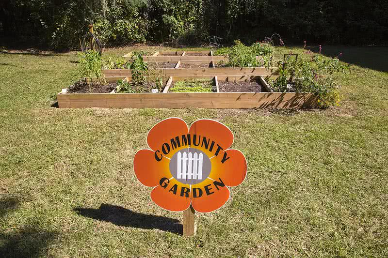Community Garden | Community garden for those with a green thumb at our Ocala apartments.