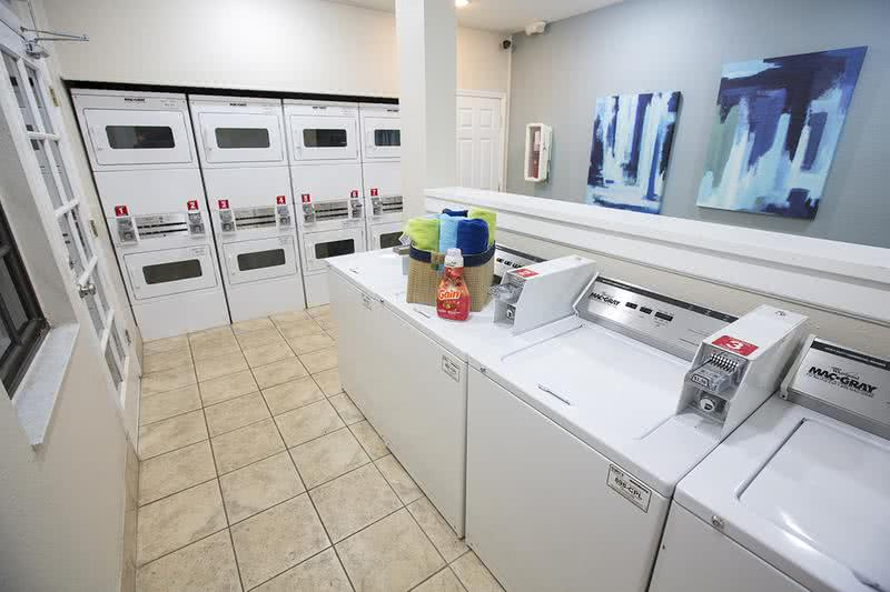 Community Laundry Room | Get your laundry done at Carrington Lane's on-site laundry care center.