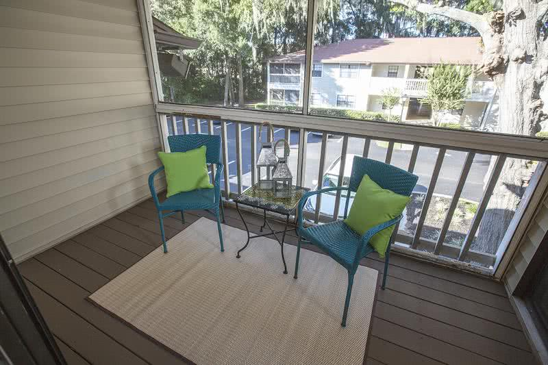 Private Patio/Balcony | Add your own touch to your patio or balcony (in select apartments)