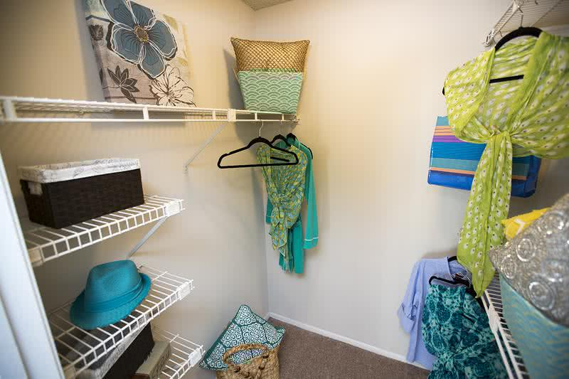 Walk-In Closet | Large Closets with built-in organizers.