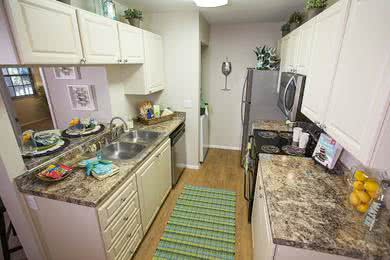 Carrington Lane Kitchen | Well designed kitchen with washer and dryer included.