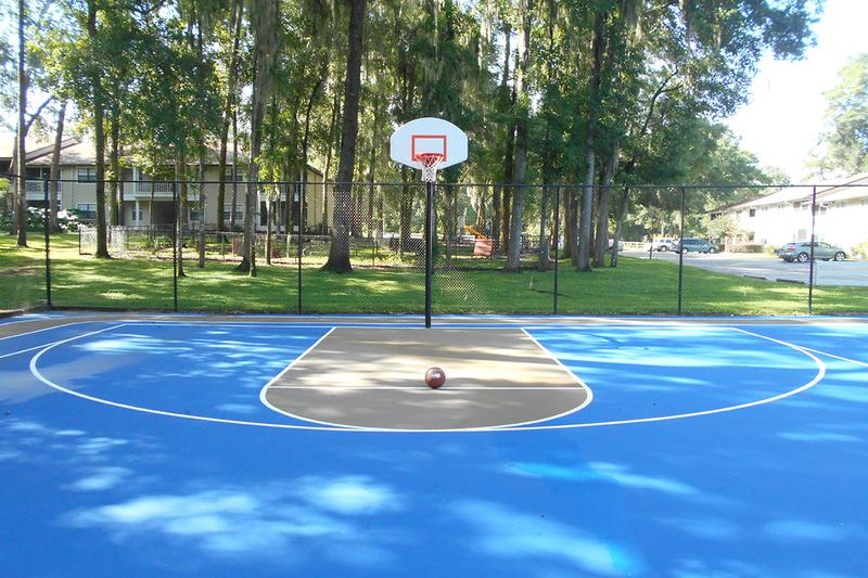 Basketball Court | Play a game of basketball with some friends at our basketball court.