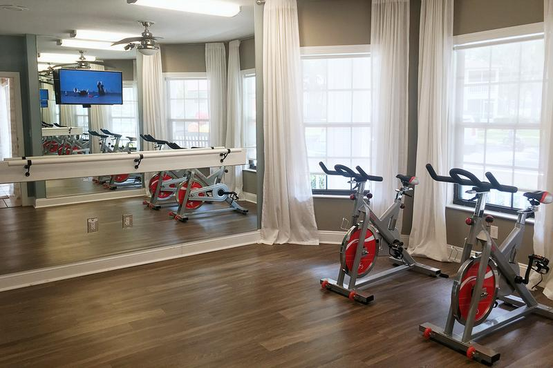 Fitness Center | Get a workout in our fully equipped fitness center.