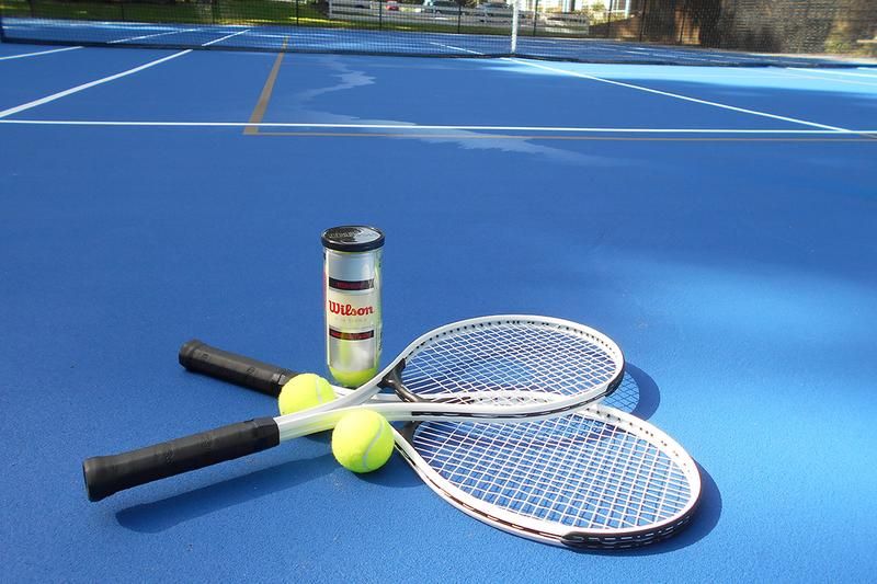 Tennis Court | Catch a game at our tennis court.