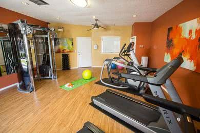 Fitness Center | Get an invigorating workout in our resident fitness center.