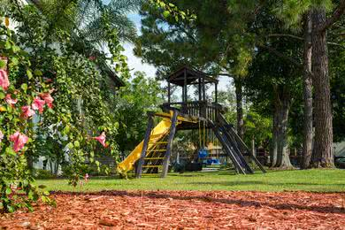 Playground | The kids will love spending time at our playground.