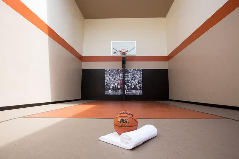 Indoor Basketball Court | Get in a game with some friends at our indoor basketball court.