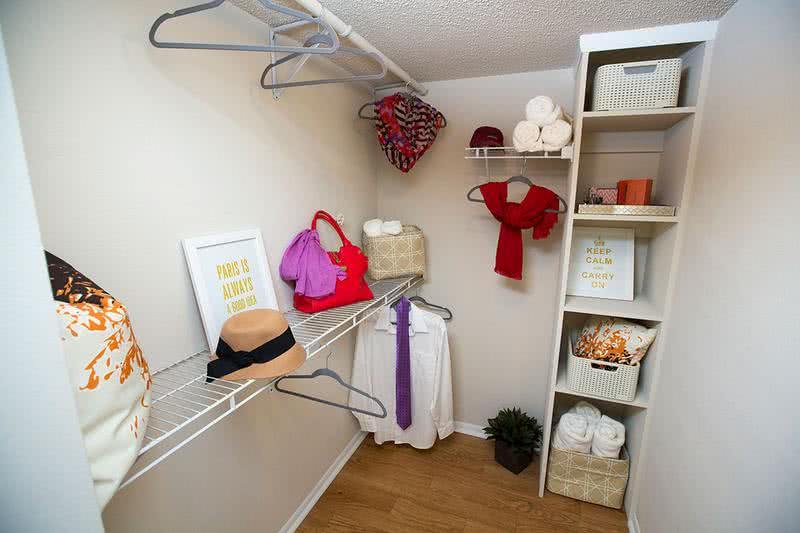 Walk-In Closet | Enjoy your spacious walk-in closet with built-in organizers.