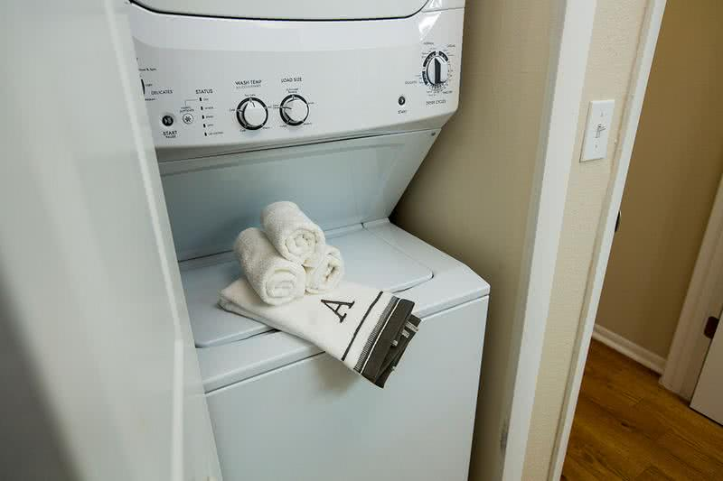 Washer and Dryer | Washer and dryer appliances are included in all apartment homes.