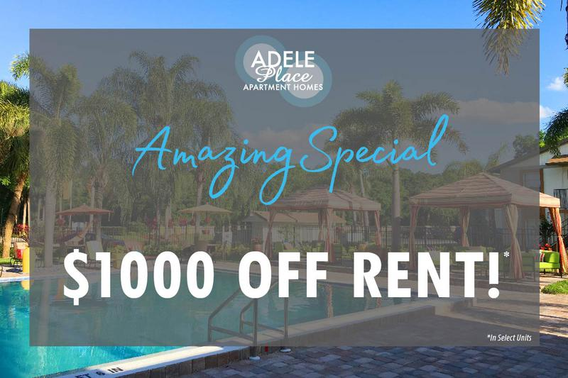 Take Advantage of this Great Special | Restrictions apply. Select units only. Please call the office for details.