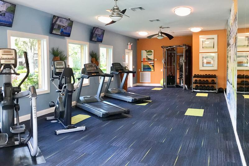 24-Hour Fitness Center | State-of-the-art Fitness Center with all new equipment. Keep a healthy lifestyle going right at the convenience of your own community.
