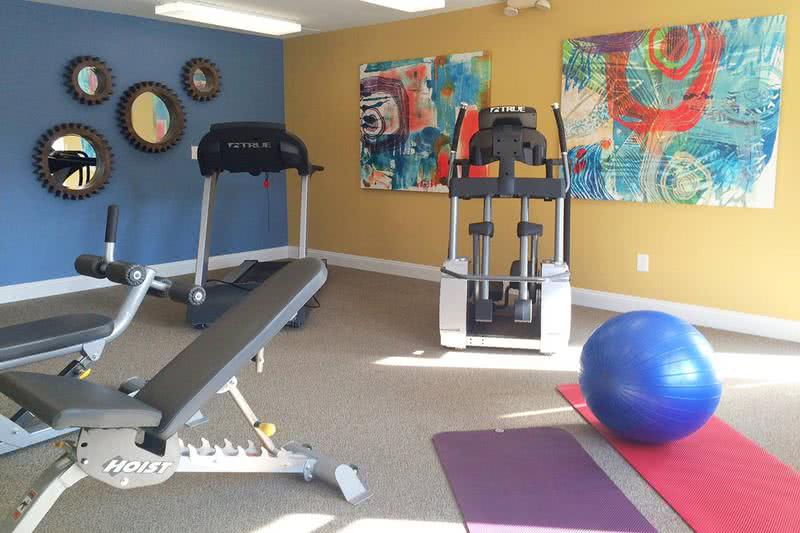 Fitness Center | Get a workout any time of day at our 24-hour fitness center.