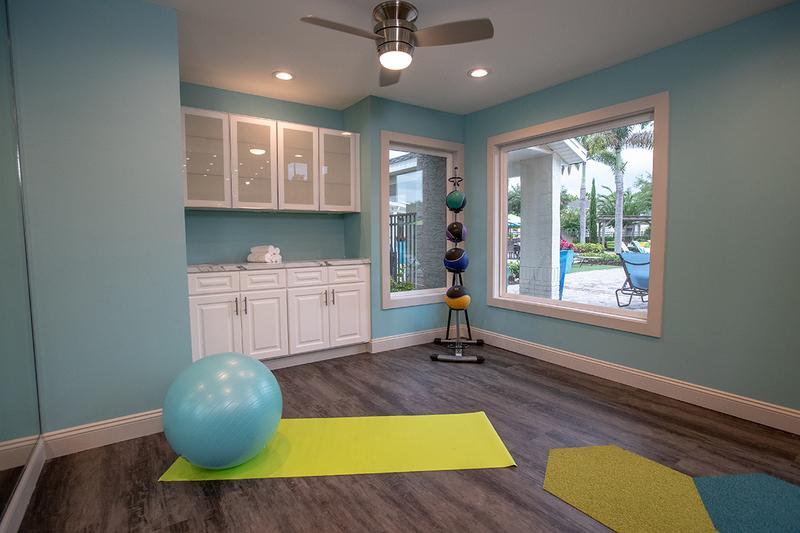 Yoga Center | Our fitness center also features a yoga studio.