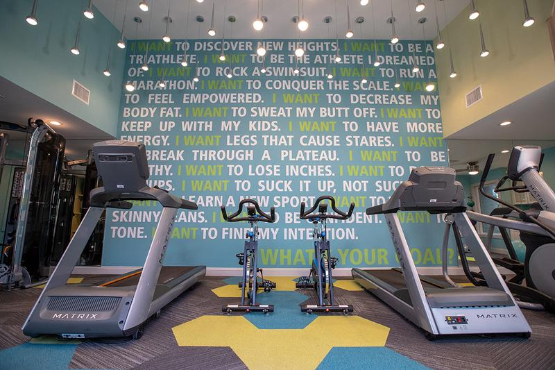 Fitness Center | Our fitness center is complete with all the cardio and weight training equipment you need.