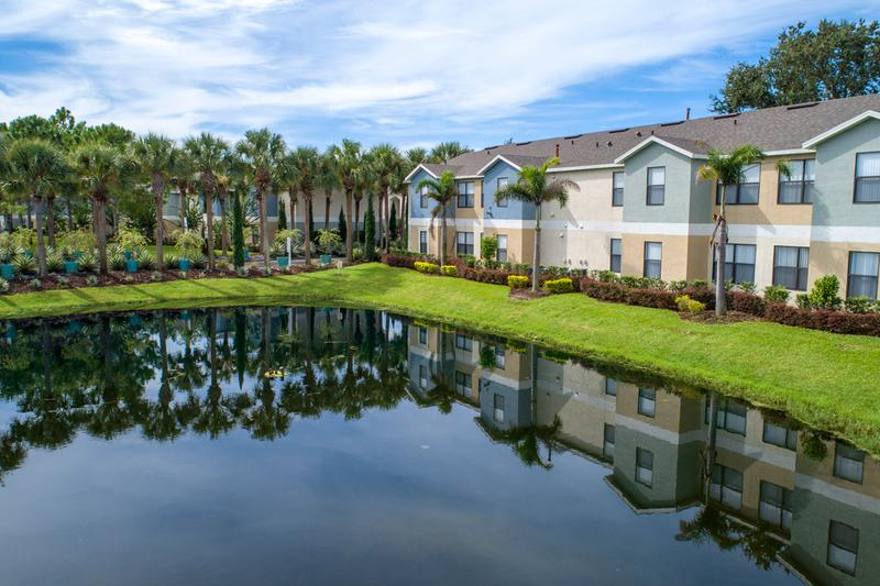 Pond Views | Enjoy beautiful pond views throughout our community.