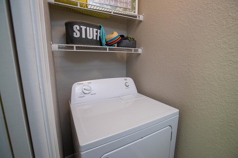Laundry Room | Laundry has never been so easy with your own private laundry room.
