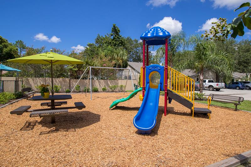 Playground | Bring the kids to our playground for some fun.