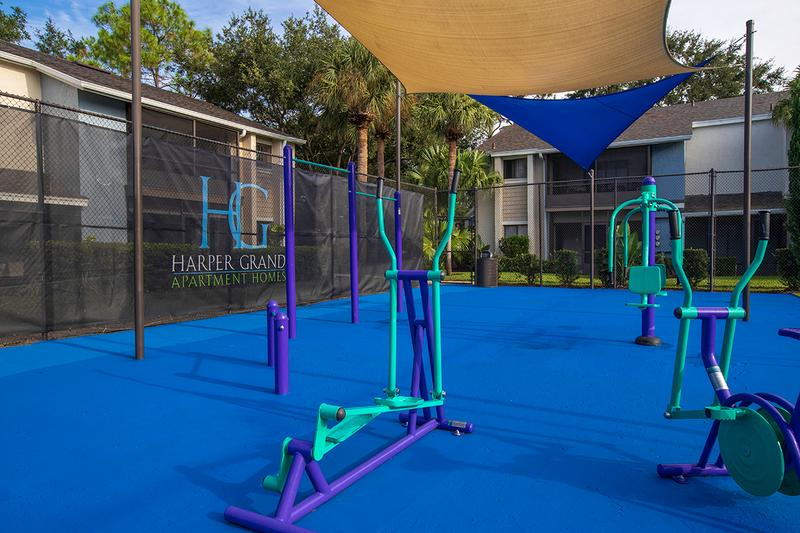 Cardio Machines | Enjoy an outdoor workout on one of our many cardio machines.