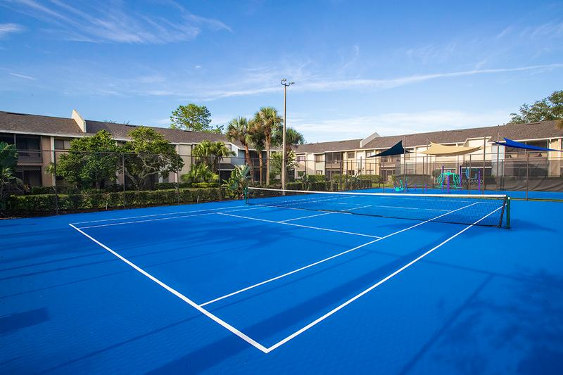Tennis Court | Get in a game with some friends at our tennis court.