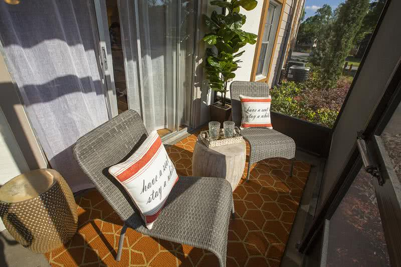 Screened-In Patio | Enjoy the outdoors on your very own private, screened-in patio.