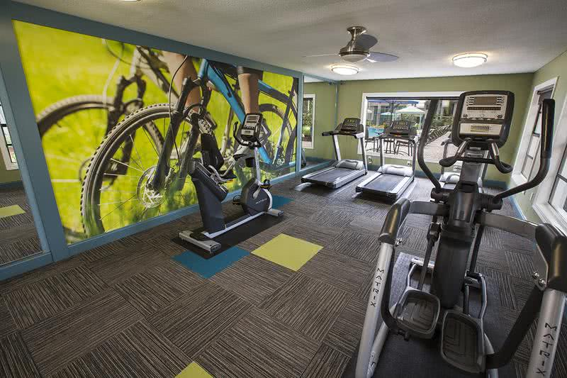 24-Hour Fitness Center | Brand new 24-hour workout facility with great gym equipment.