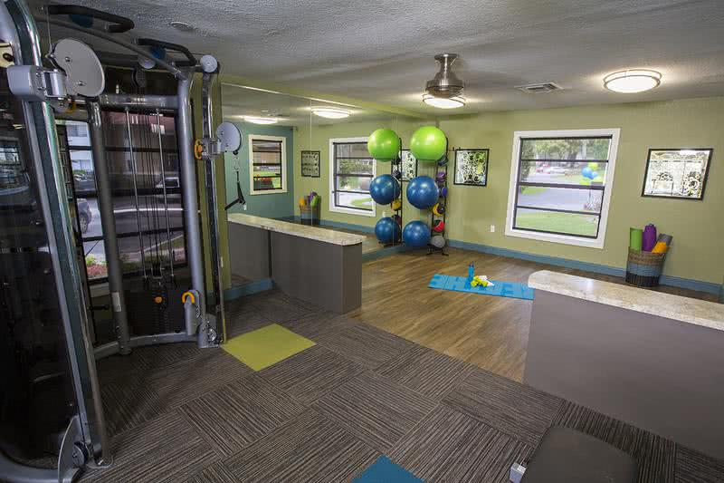 Yoga Studio | Our fitness center even includes a yoga studio.