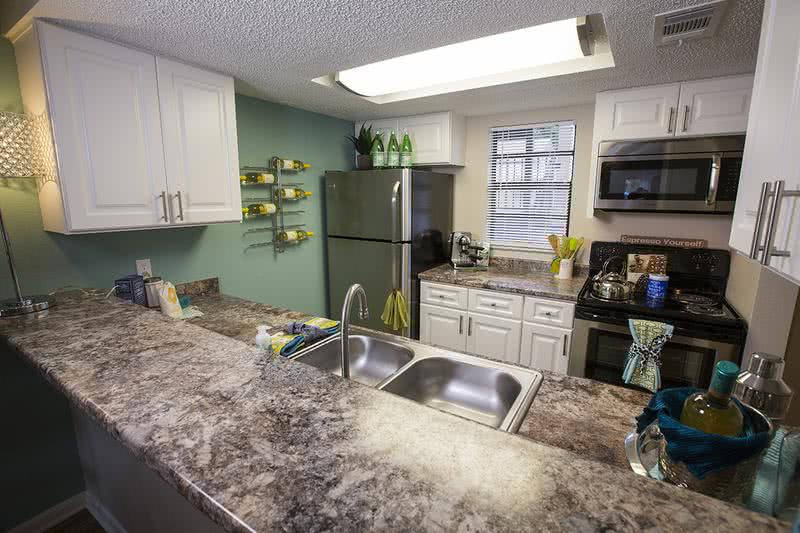 Updated Kitchen | Spacious Kitchen area with plenty of counter space and cabinetry for storage.